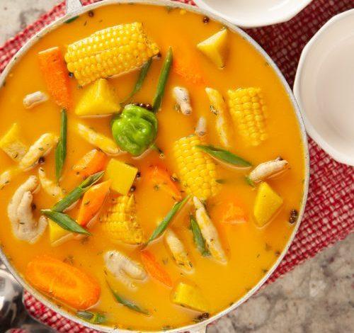 foot soup