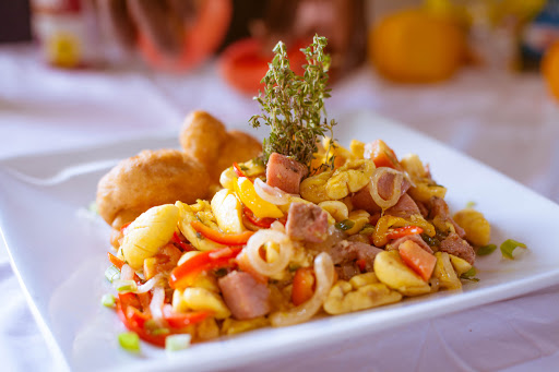 Ackee and Corned Pork
