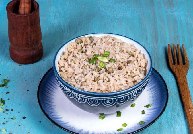 Gungo Peas and Rice 2