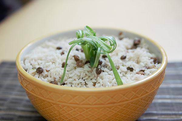 Gungo Peas and Rice