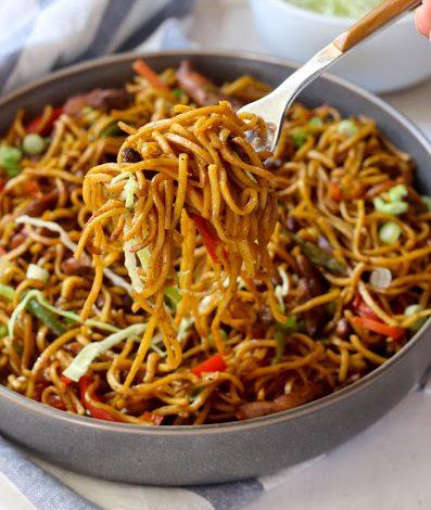 Spicy Chicken Chow Mein 2