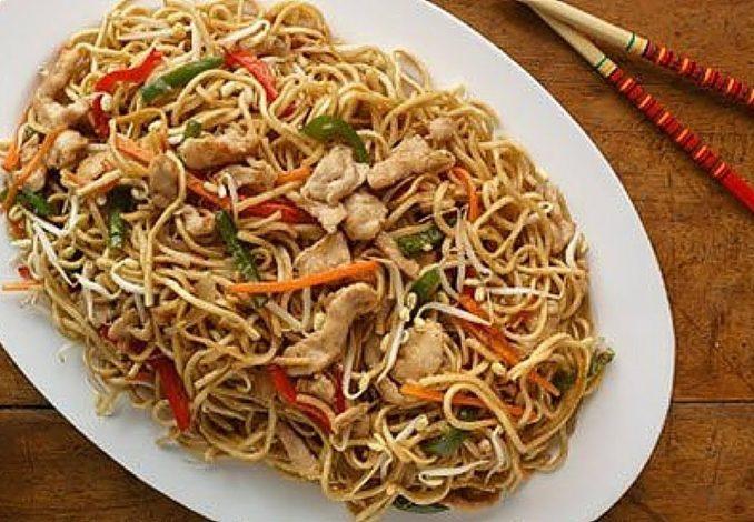 Spicy Chicken Chow Mein 3